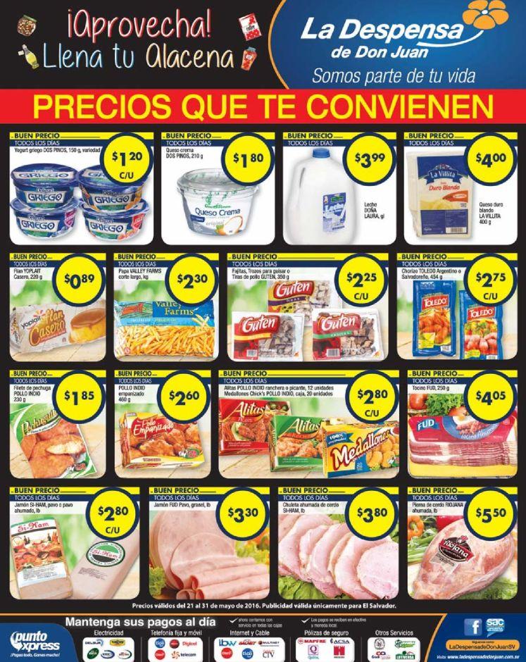 lacteos embutidos con super precios en la despensa - 21may16