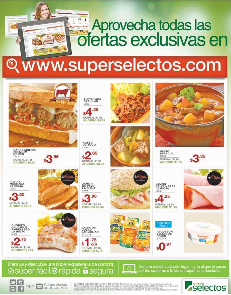 Ahorras mas al compra en Super Selectos en linea - 03jun16