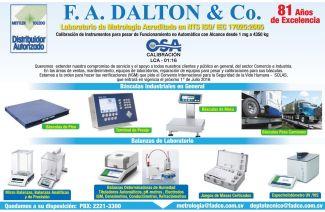 Basculas industriales y de laboratorio certificadas