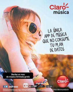 Descarga APP CLARO musica la unica que no consume tus datos