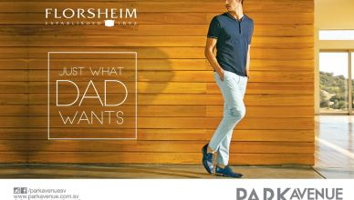 Just what DAD wants FLORSHEIM shoes