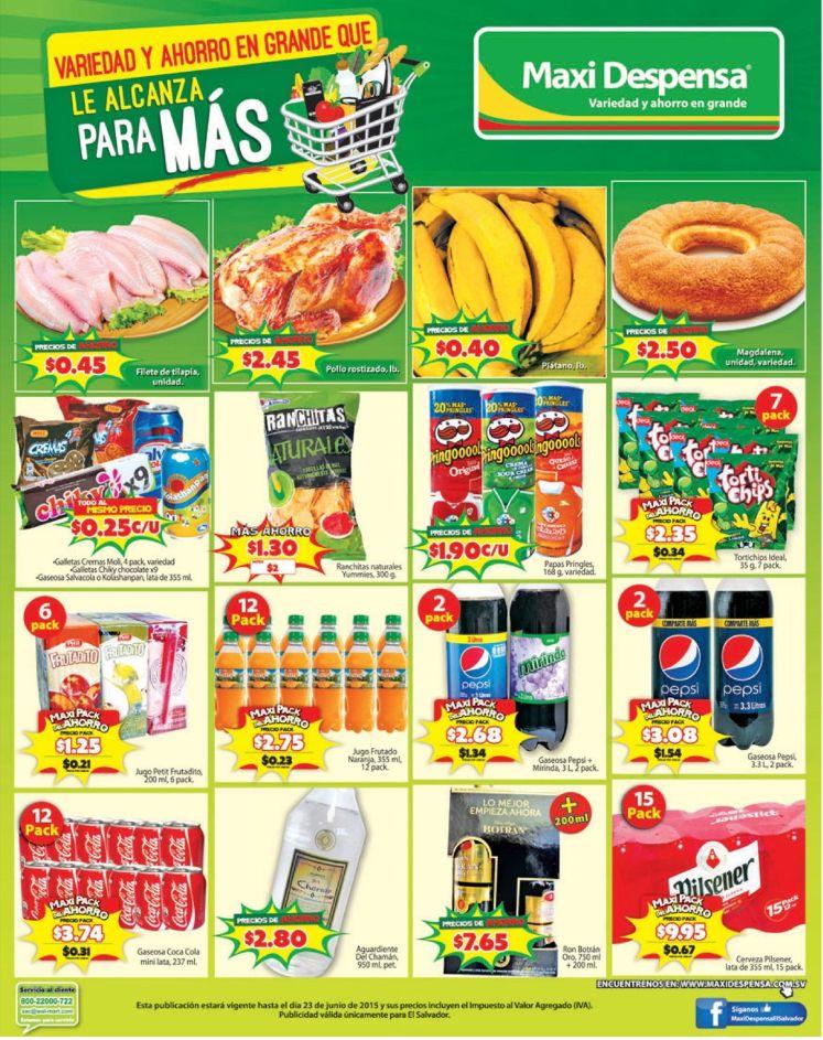 Maxi Despensa ahorro en el dia del padre 2016