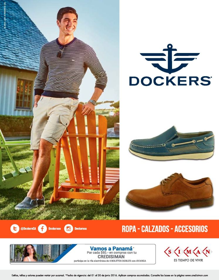 ROPA calzado Accesorios for fathers DAY dockers by SIMAN
