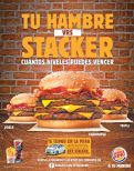 burgerking STACKER burger level