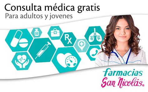 consulta medica gratis en farmacias san nicola el salvador