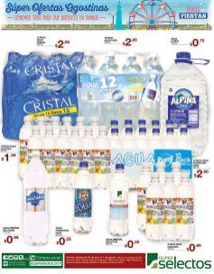 Agua embotellada con precios de ofertas super selectos