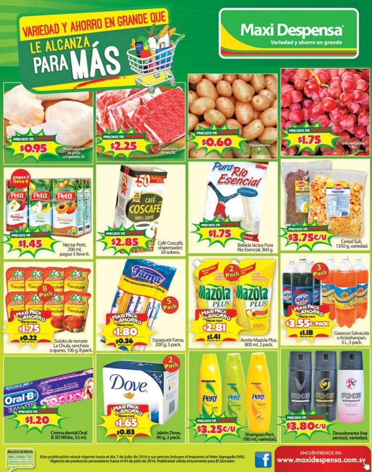 Encuentra mas ahorro en maxi despensa supermercados