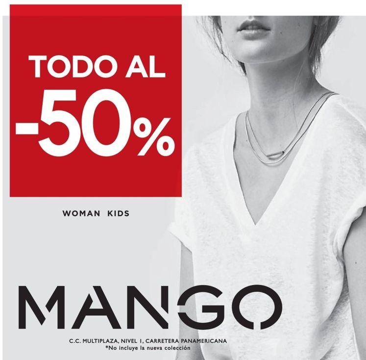 MANGO store fashion and kids 50 off