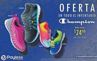 OFERTAS todo el inventario de calzado deportivo CHAMPION