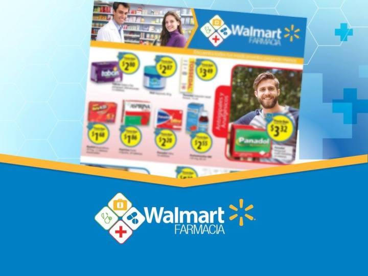 Promociones medicinas y medicamentos WALMART farmacia - julio 2016