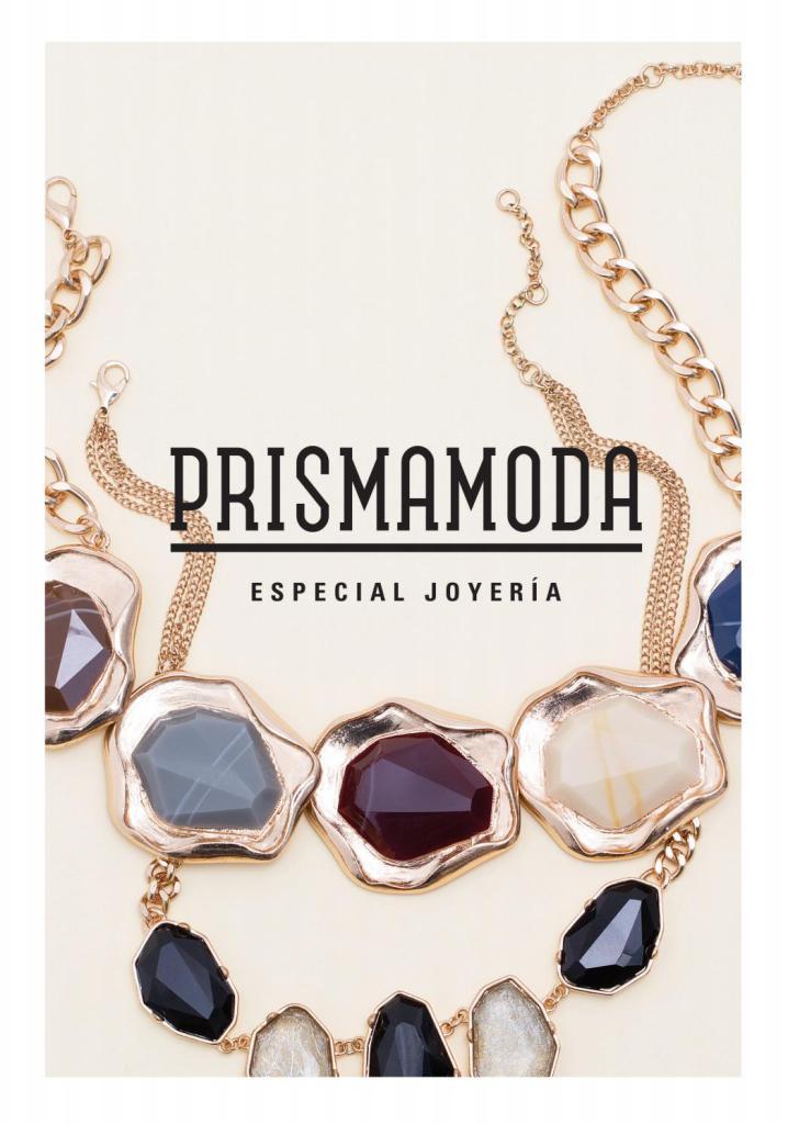 Revista de joyas y accesorios para damas PRISMA MODA 2016