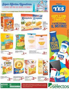 Ricos cereales en ofertas fiestas agostinas 2016