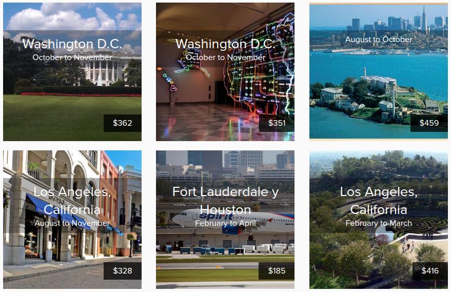 vuelos economicos para viajas en vacaciones de agosto