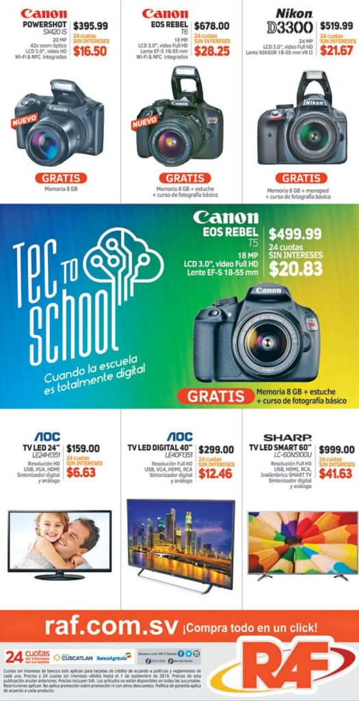 CANON powershot cameras REBEL promotions