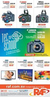 CANON powershot cameras REBEL promotions