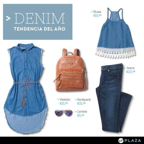DENIM trend promotions by MD Plaza store