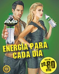 Energy drink chema venegas y monica robles