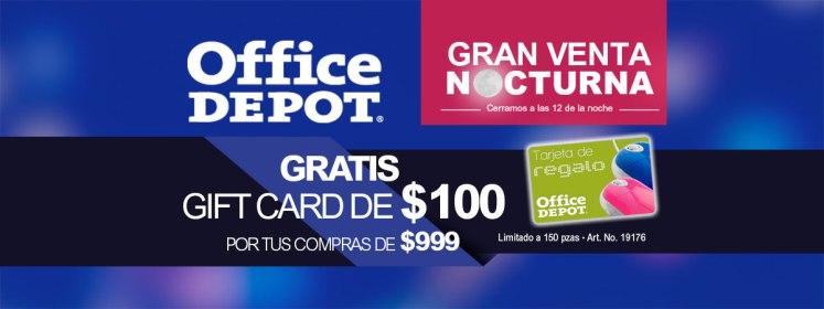 Gran venta nocturna de office depot 2016