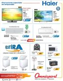 HAIER brand promociones disponibles omnisport elsalvador
