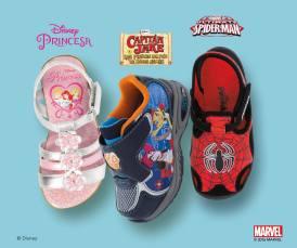 Los personajes de disney en tu zapatos