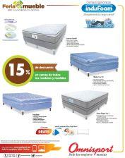 OMNISPORT sabe como necesitas descansar en una buena cama indufoam
