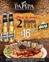 Promocion de plato de bocas mas cervezas en LA PAMPA