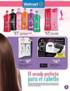 Promociones en shampoos SEDAL y TRESemme para tdo tipo de cabellos