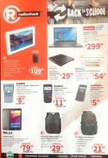 back to school 2016 deals RADIO SHACK