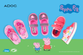 promotions PEPPA PIG shoes for kids