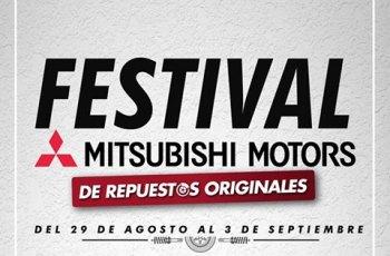 Festival MITSUBISHI MOTORS repuestos y articulos originales