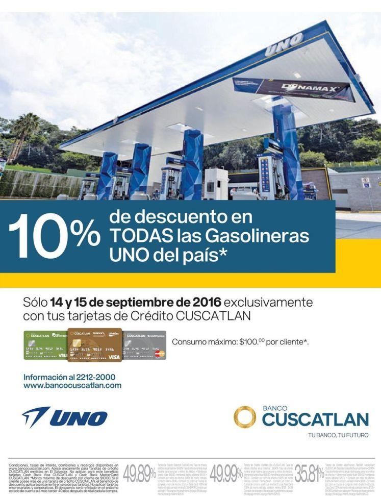 gasolina-barata-en-uno-con-tarjetas-banco-cuscatalan