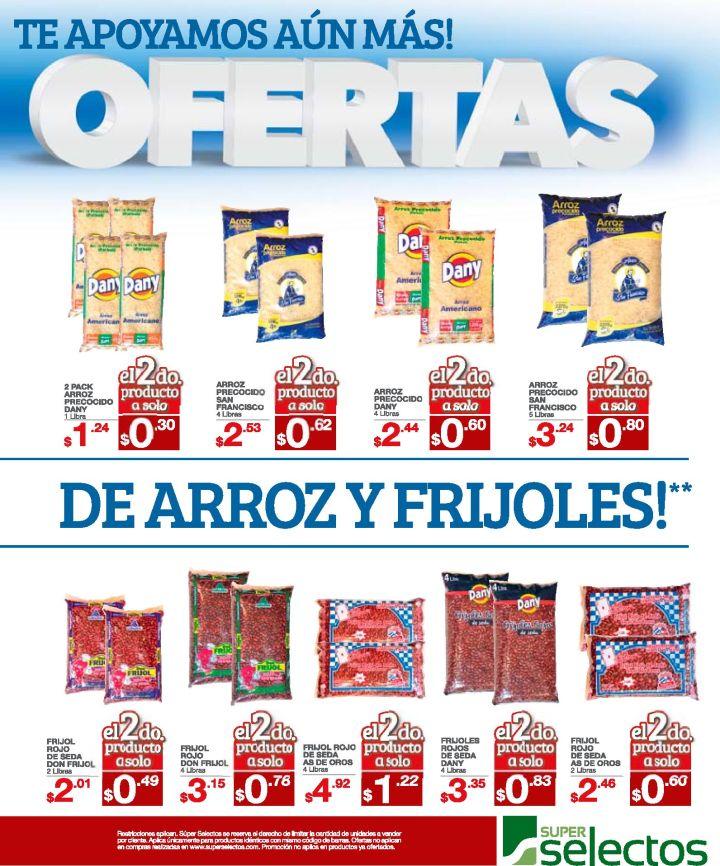 SUPER ofertas del mes de septiembre ARROZ y FRIJOLES
