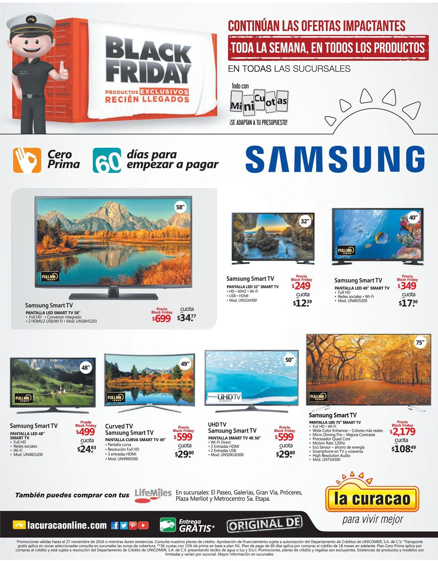 ofertas-televisores-black-friday-2016-de-la-curacao-led-smart-tv