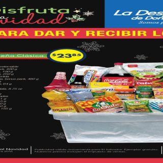 folleto de ofertas canastas Despensa de DOn Juan el salvador