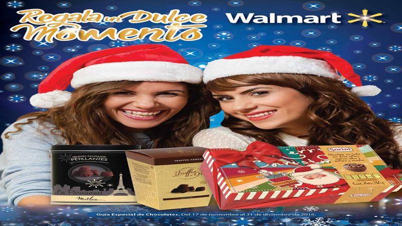 Dulces momentos de Navidad con WALMART catalogo de chocolocates, dulces y golosinas