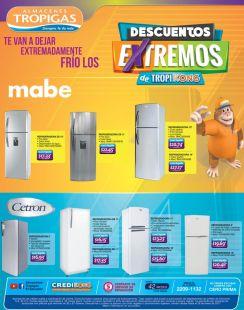 Las Refrigeradoras CETRON y MABE con descuentos extremos enero 2017