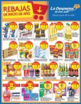 Lunes de ofertas en LA DESPENSA tus necesidad basicas - 16ene17
