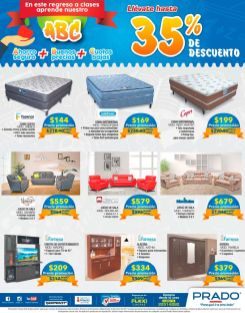 PRADO promociones enero 2017 camas muebles y modulos
