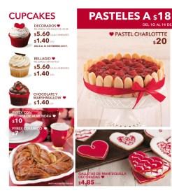 Detalle dulces para san valentin en panaderia san martin