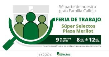 Feria de Trabajo de SUPER SELECTOS El salvador 9 de febrero de 2017