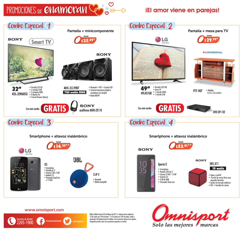 Promociones que enamoran de almacenes OMNISPORT el salvador