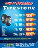 Super precios de ofertas de llantas FIRESTONE