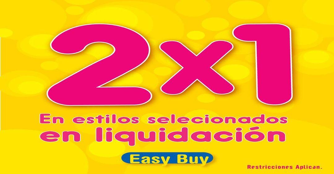 Liquidacion de cazaldo EASY BUY promociones 2x1