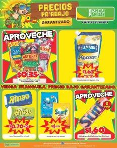 Despensa Familiar precios bajos para hoy viernes - 17mar17 jabones y detergentes