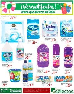 Detergentes Almidon LavaPlatos Lejia SUPER SELECTOS limpieza