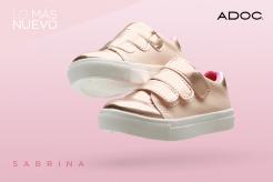 SABRINA Tenis color rosa marca ADOC