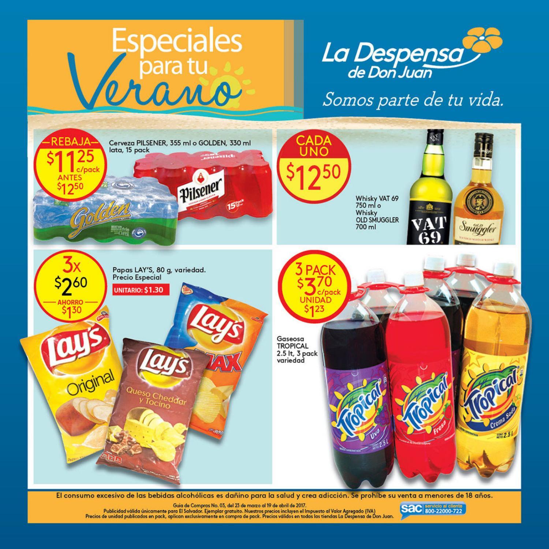 ofertas especiales de semana santa 2017 LA DESPENSA sv