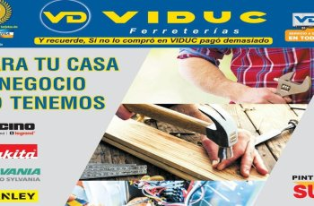 promociones ferreterias VIDUC el salvador