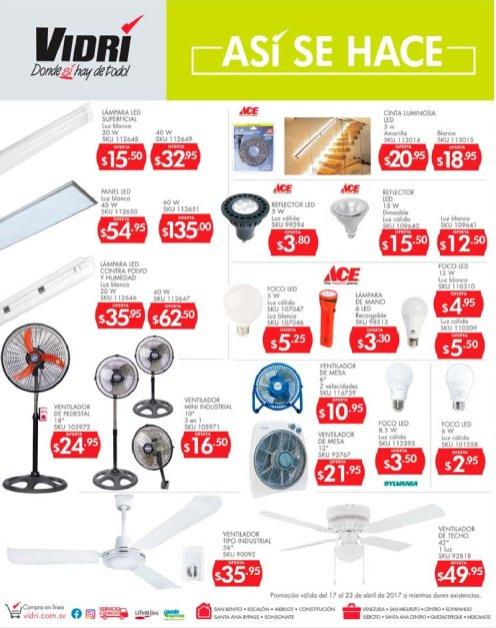 AUN con calor olvidate con estas ofertas de ventiladores VIDRI