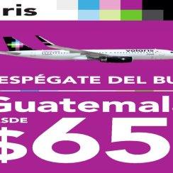 VOLARIS Precio en oferta para viajas a guatema en avion